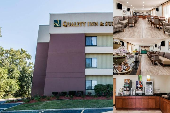 Quality Inn & Suites Detroit Warren Tech Center photo collage