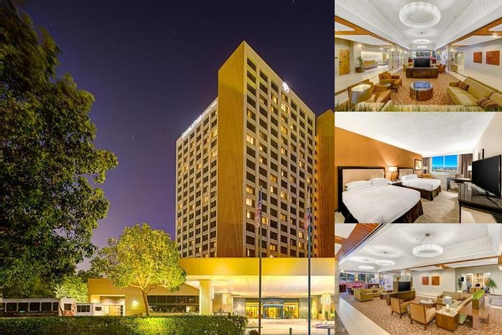 Doubletree Anaheim Orange County photo collage