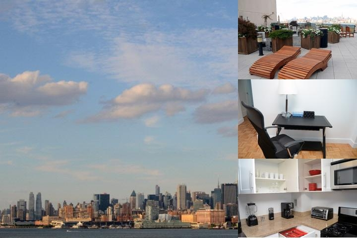 Pelican Residences Furnished Suites Facing Nyc Sky photo collage