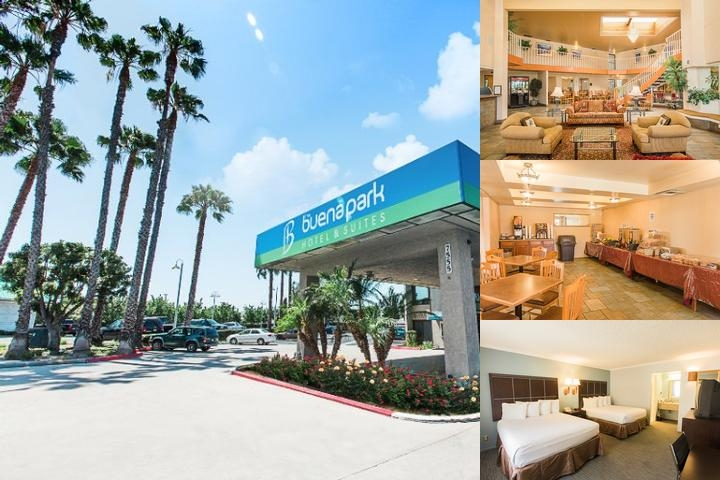 The Buena Park Hotel photo collage