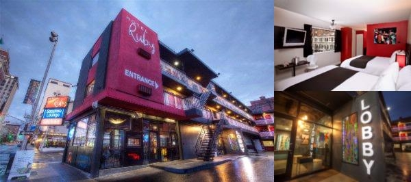 Hotel Ruby Spokane photo collage