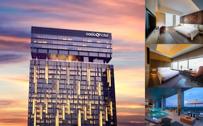 Oasia Hotel Novena Singapore photo collage