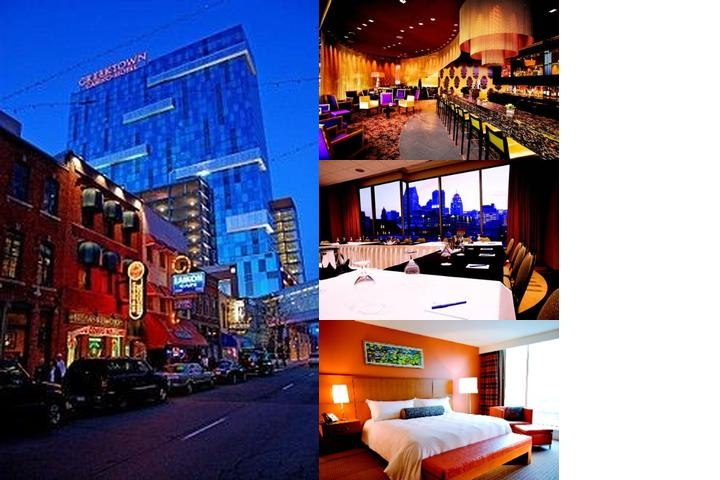 Greektown Casino Hotel photo collage