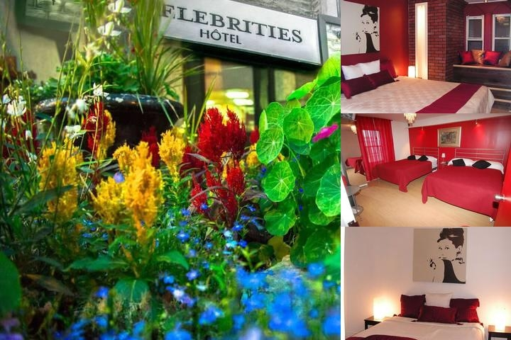 The Celebrities Hotel photo collage