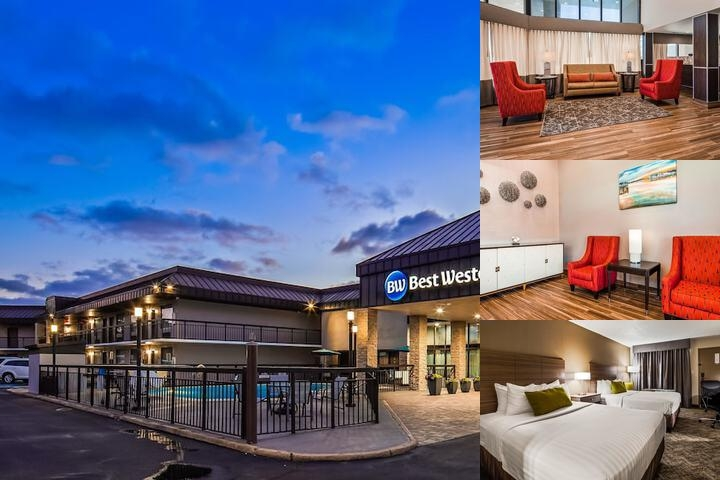 Best Western Center Inn Photo Collage