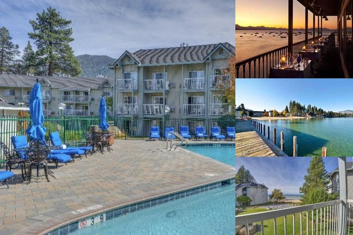Beach Retreat & Lodge at Tahoe photo collage