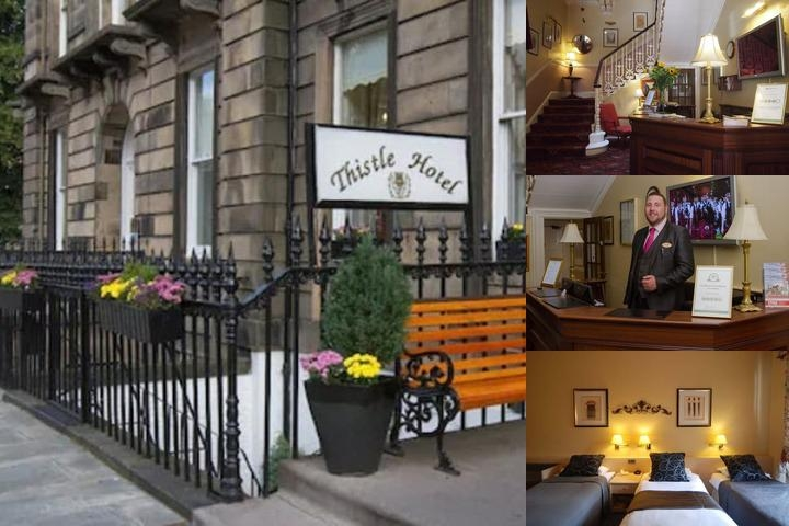 Edinburgh Thistle Hotel photo collage