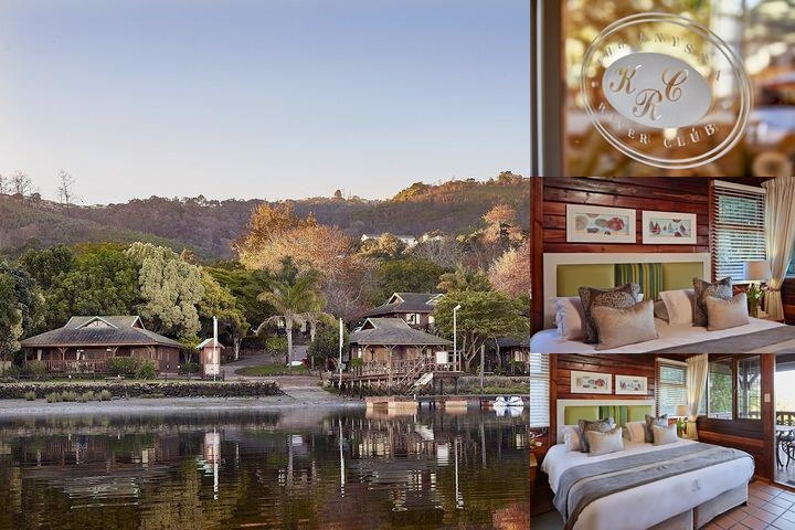 Knysna River Club photo collage