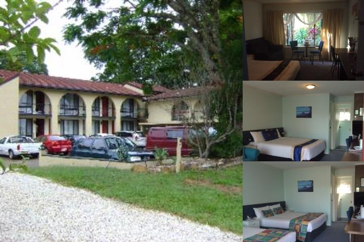 Poinciana Motel photo collage