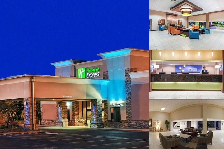 Holiday Inn Express Airport photo collage