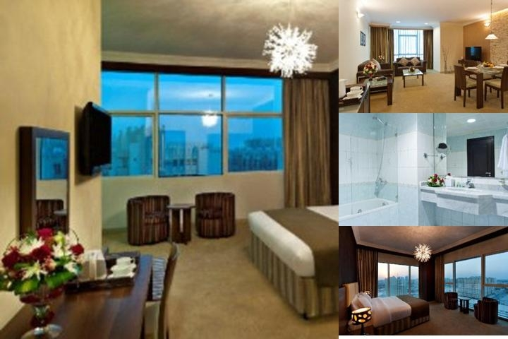 Saray Hotels Apartment Doha photo collage