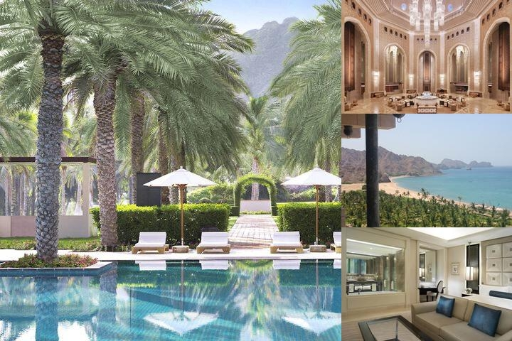 Al Bustan Palace a Ritz Carlton Hotel photo collage