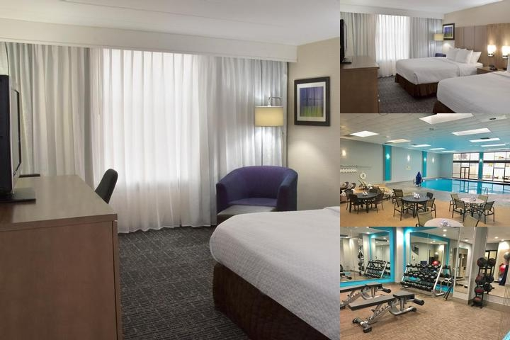 Crowne Plaza Cleveland Airport Elegant Guest Rooms