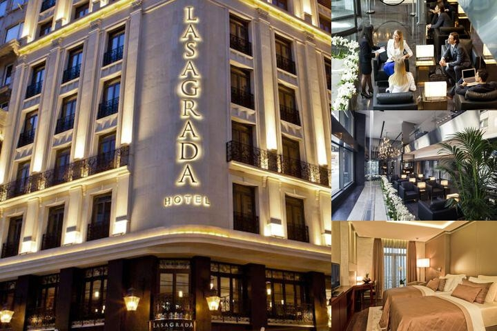 Lasagrada Hotel Istanbul photo collage