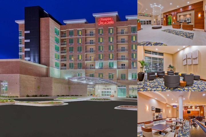 Hampton Inn & Suites Downtown Owensboro / Waterfro photo collage