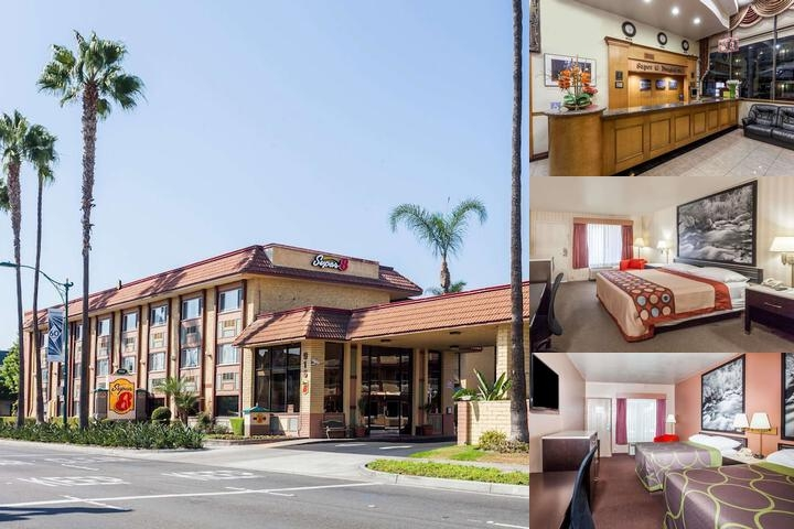 Super 8 Anaheim Disneyland Drive photo collage