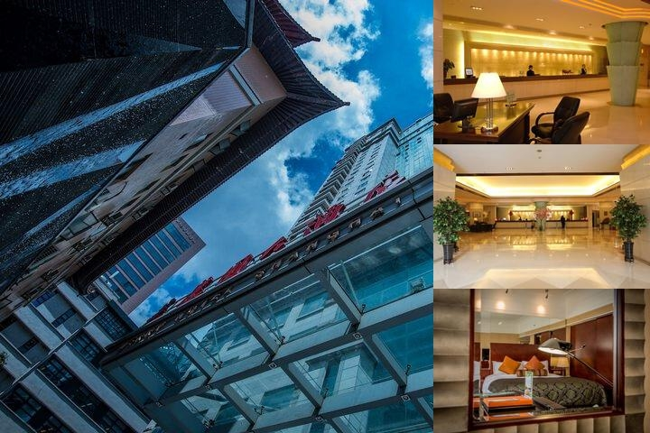 Rendezvous Merry Hotel Shanghai photo collage