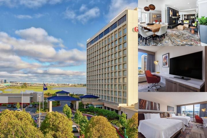Hilton Garden Inn San Francisco / Oakland Bay Brid photo collage