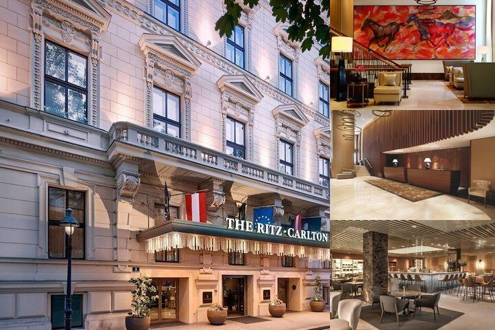 The Ritz Carlton Vienna photo collage