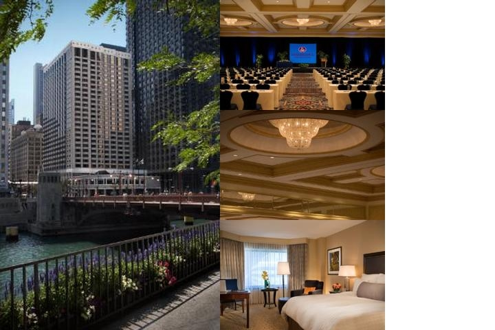 Chicago Marriott Downtown photo collage