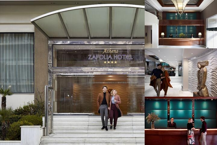 Athens Zafolia Hotel photo collage