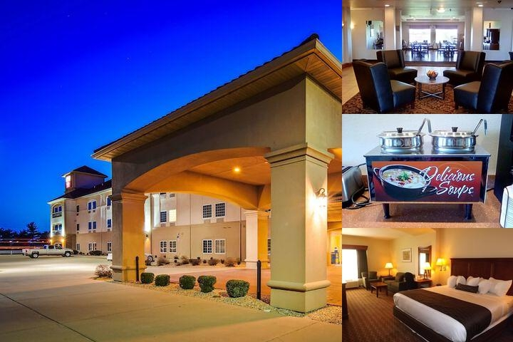 Best Western Plus Midamerica Hotel photo collage