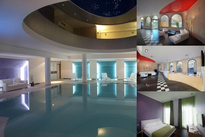 Arthotel & Park Lecce photo collage