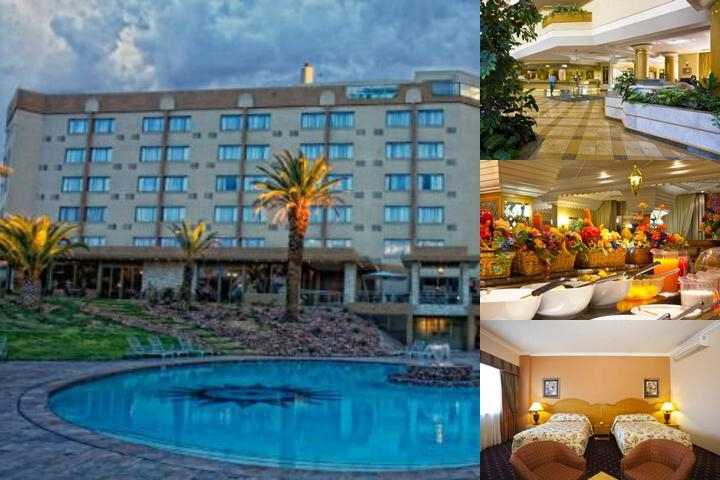 Safari Court Hotel photo collage