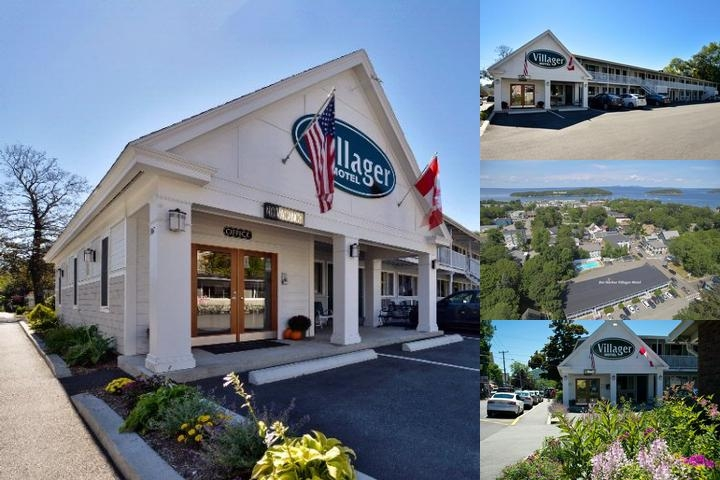 Bar Harbor Villager Motel photo collage