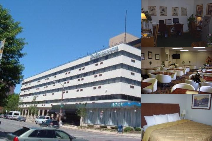 Park East Hotel photo collage