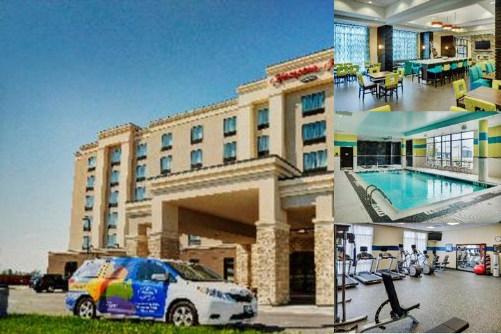 Hampton Inn by Hilton Winnipeg Airport photo collage