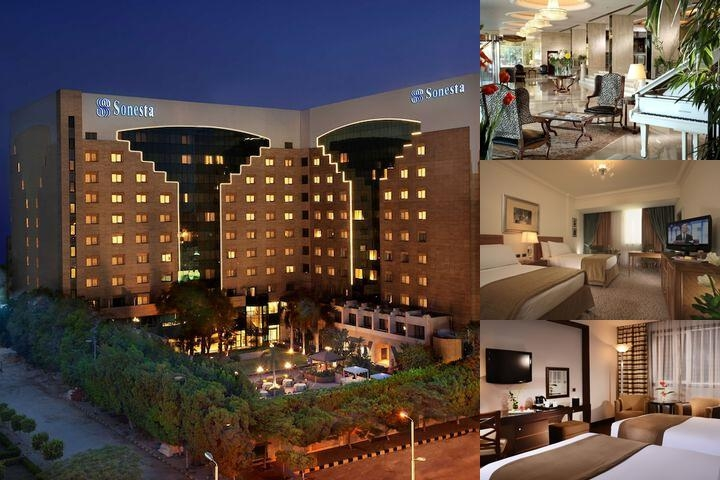 Sonesta Hotel Tower & Casino Cairo photo collage