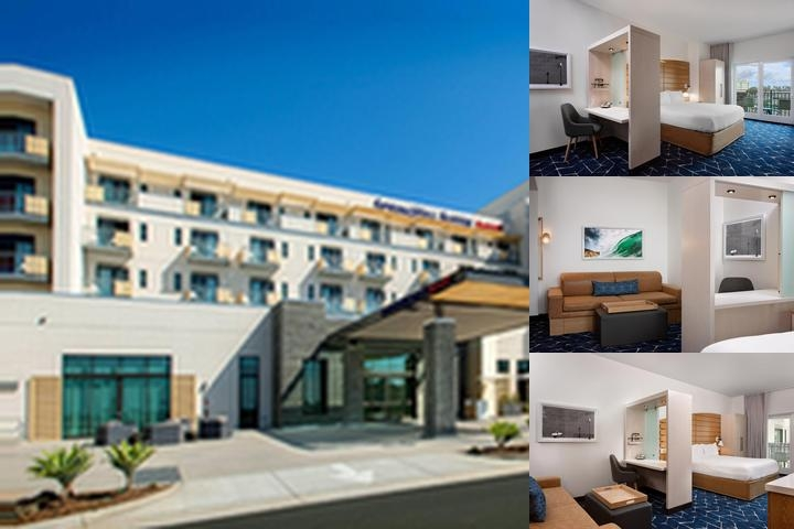 Springhill Suites by Marriott Downtown Oceanside photo collage