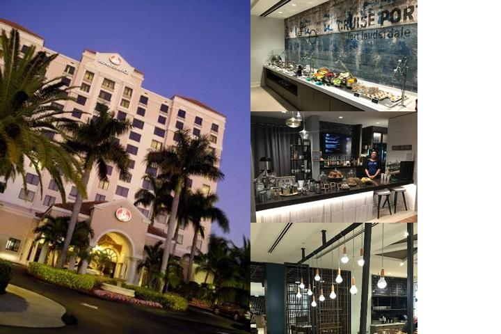 Renaissance Fort Lauderdale Cruise Port Hotel photo collage