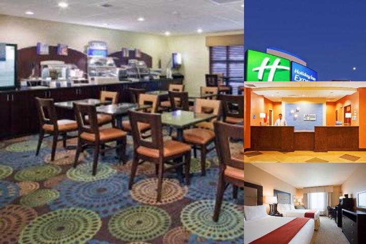 Holiday Inn Exp Stes York photo collage