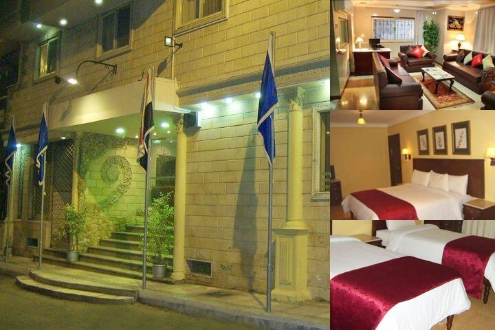 Alexandria Mediterranean Suites photo collage