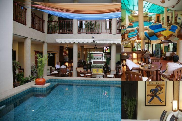 Evergreen Boutique Hotel photo collage