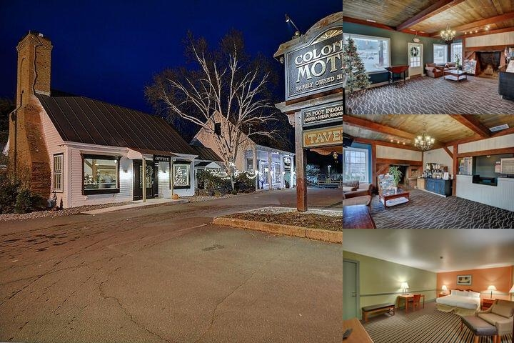 Colonial Motel & Spa photo collage