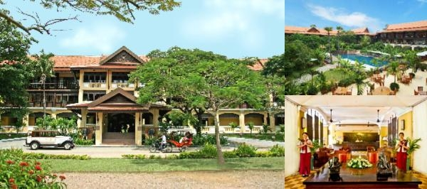 Victoria Angkor Resort & Spa photo collage