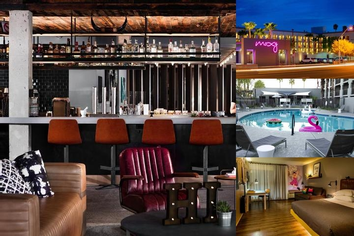 Moxy by Marriott Phoenix Tempe photo collage
