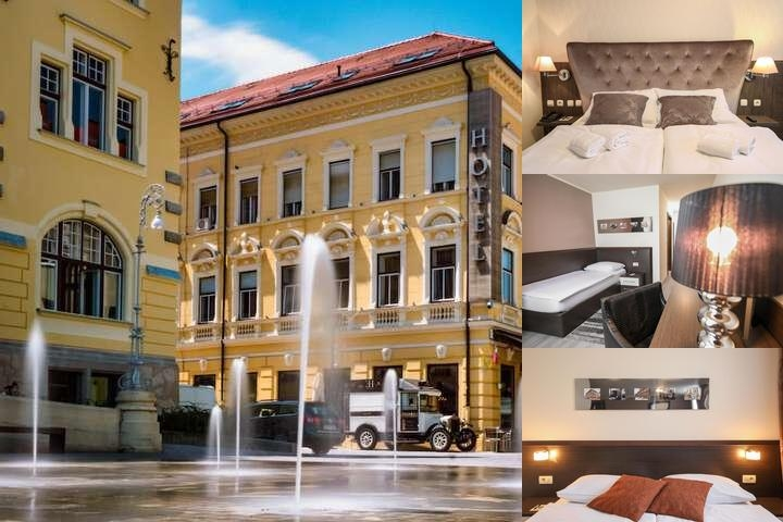 Hotel Evropa photo collage