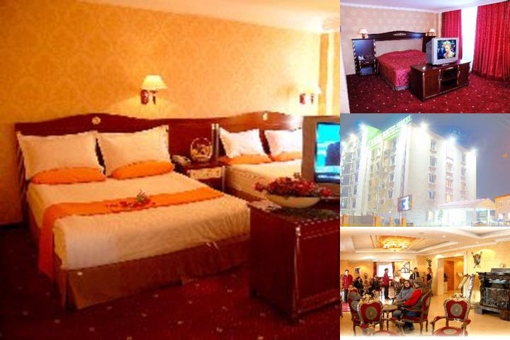 White House Hotelmongolia photo collage