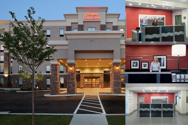 Hampton Inn & Suites Roanoke Airport Valley View M photo collage