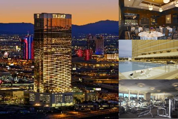 Trump International Hotel Las Vegas photo collage