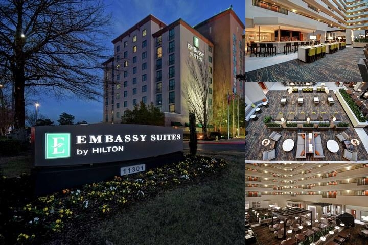 Embassy Suites Little Rock photo collage