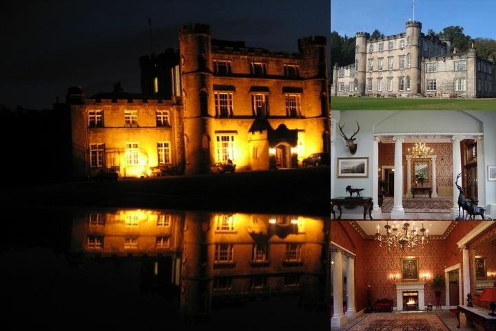 Melville Castle photo collage