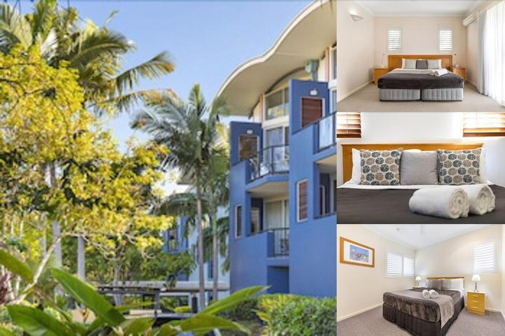 Twin Quays Noosa Resort photo collage