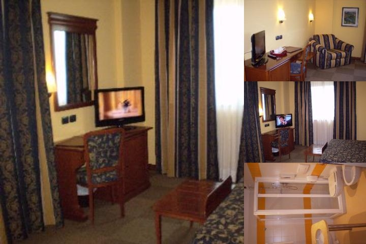 Medea Hotel photo collage