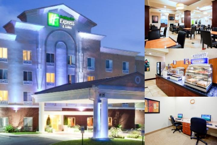 Holiday Inn Express Charlotte Arrowood photo collage