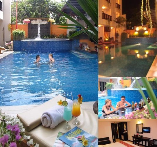 Losari Hotel & Villas photo collage